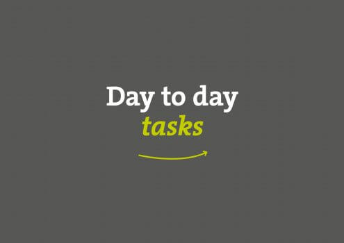 VIDEO: Tips for carrying out day to day tasks