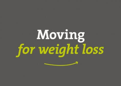 Moving for weight loss